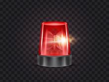 Vector Illustration Of Red Fla...