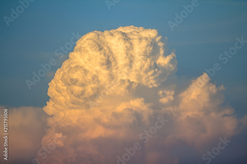 Fotografering  Clouds during sunset