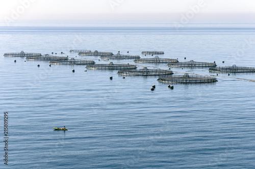 Photo acuicultura en Almeria España