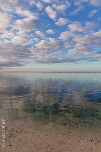 Staande foto Oceanië Ocean meditation at dawn