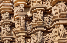 Indian Architecture With Figur...