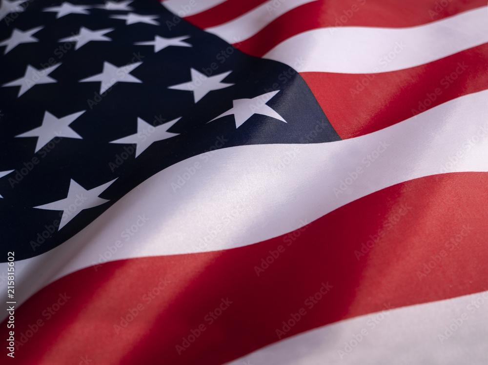 Fototapety, obrazy: USA Flag