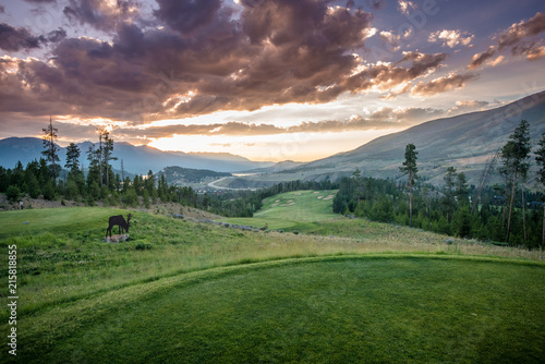 The River Course at Keystone, Colorado Canvas-taulu