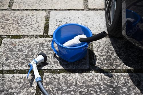 Fototapeta  洗車のイメージ
