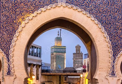 Fez in Morocco Canvas Print