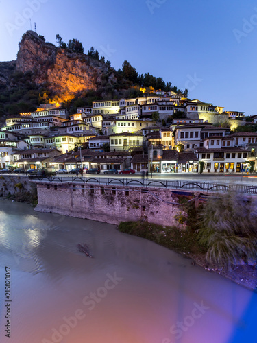 Berat , old small city in Albania Canvas Print