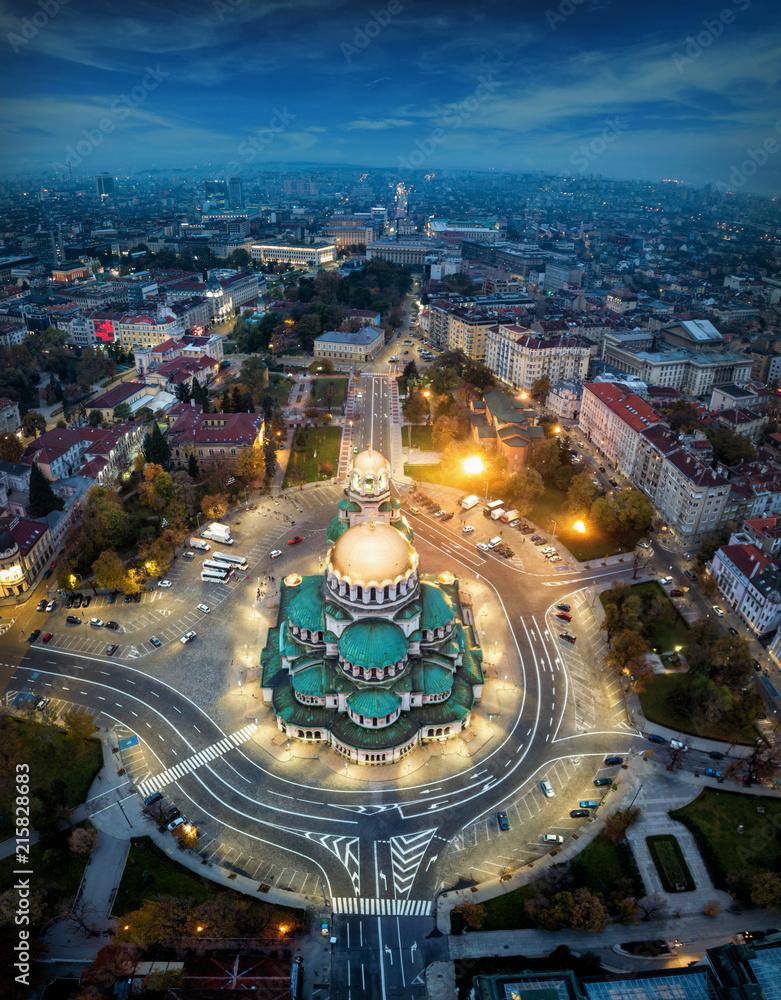 Fototapety, obrazy: sofia  capital city of  Bulgaria