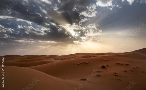 Cadres-photo bureau Desert de sable Sahara desert ,great landscape in Morocco