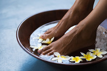 Pedicure At Luxury Spa