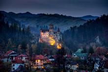 Bran Castle ,Dracula Castle In Transilvania  ,Romania