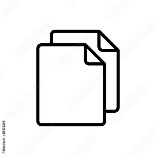 Fotografie, Obraz  Simple Copy icon