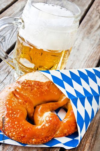 Staande foto Bier / Cider Bayern - Essen und Trinken