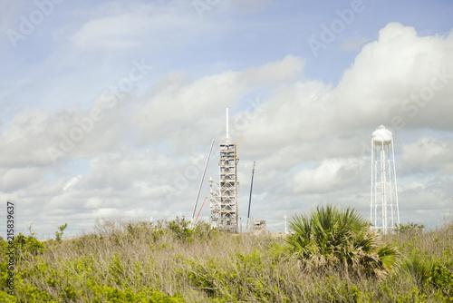 Deurstickers Nasa Space center launch ramp