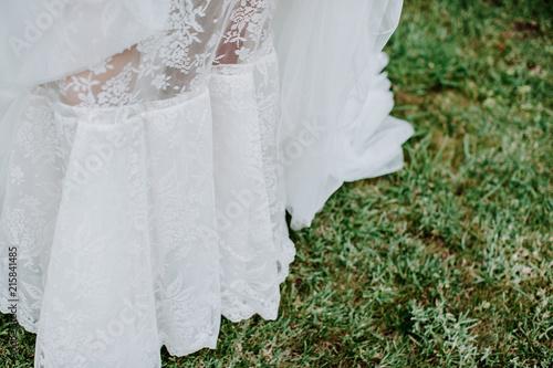 Fotografie, Obraz  Jupon de la mariée