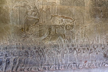 Bas Relief Of The Commander Of...