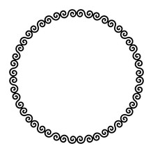 Circle Frame With Celtic Doubl...