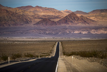 Highway Through Death Valley W...