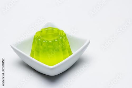 Fotografía  Gelatina sabor kiwi