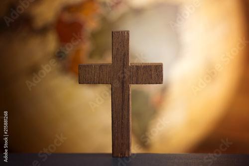 Obraz na plátně Go into all the world and tell the gospel to all creation