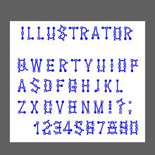 Vector Of Modern Alphabet Lett...