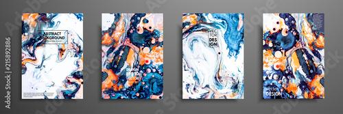 Mixture of acrylic paints Canvas-taulu