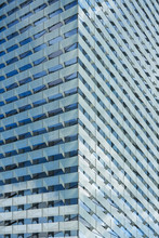 High-rise Glass Office Building.