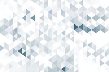 FototapetaBlack and white triangle shapes, geometric style background.