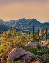 Pinnacle Peak Park Is A Desert Park Which Provides Many Outdoor Activities To The Scottsdale Community, AZ.