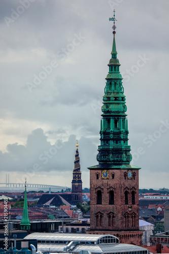Photo Copenhagen, the city of spires