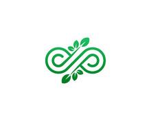 Infinity Logo Template Vector Illustration