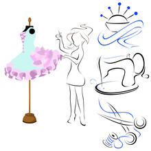 Silhouettes For Atelier Clothi...