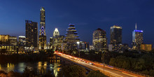 Austin City, Texas - Skyline A...