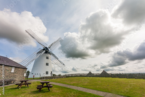 Photo  Llynon mill and farm, Llandeusant, Anglesey, Wales, United Kingdom