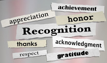 Recognition Achievement Apprec...