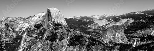 Half Dome im Yosemite Park ein Berg in Kalifornien