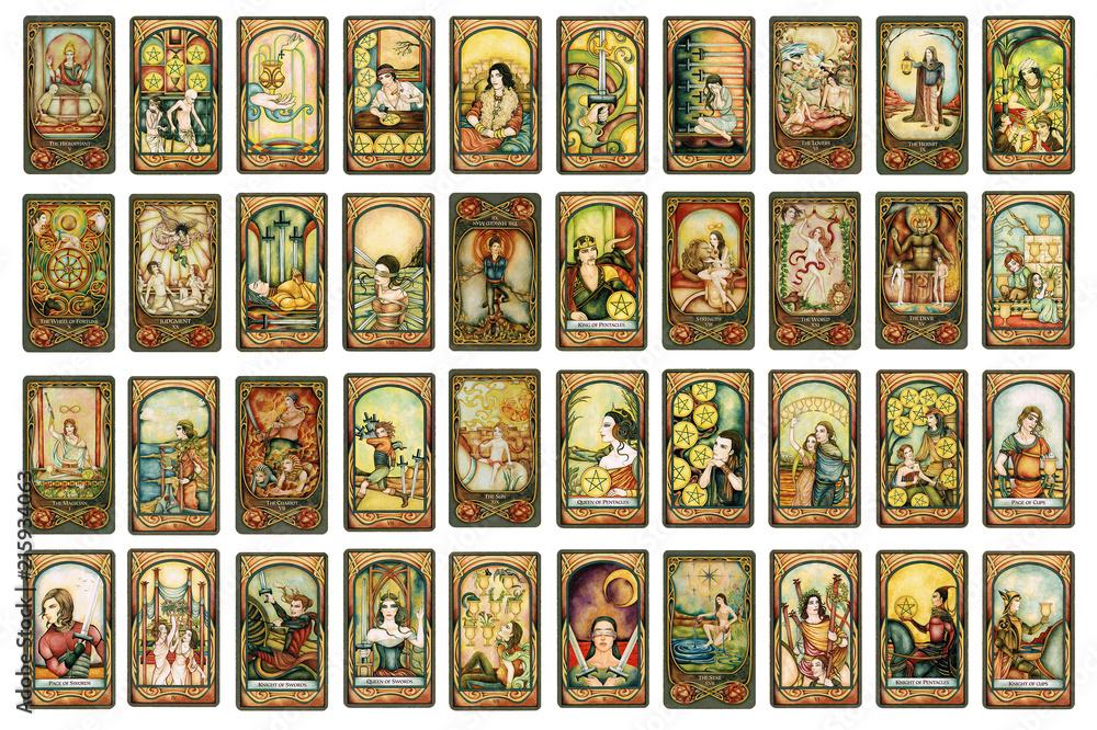 Fototapety, obrazy: Tarot 1