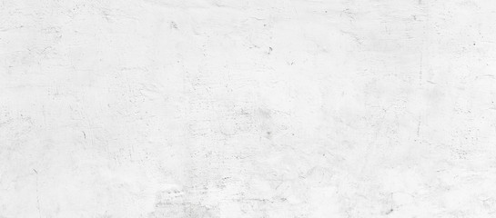 White plastered wall background