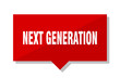 next generation red tag