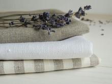 Natural Pure Linen Towels, Nap...
