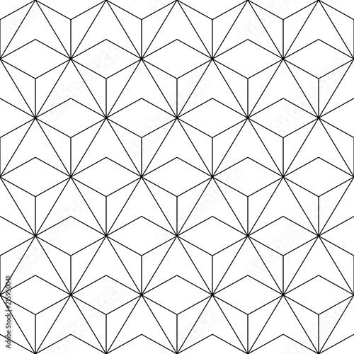 Fototapety geometryczne biala-geometria