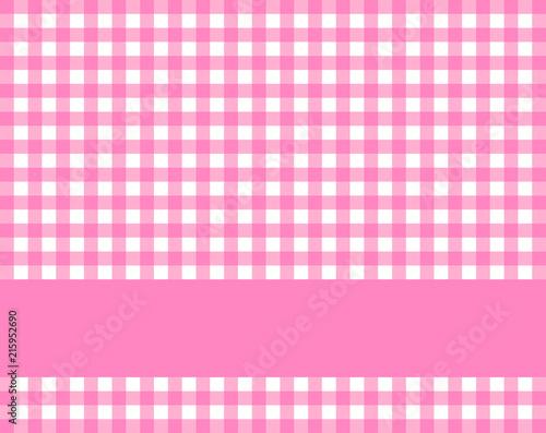 Fototapety różowe rozowe-krateczka-z-dekorem