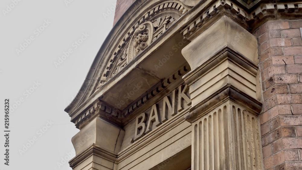 Fototapeta Bank