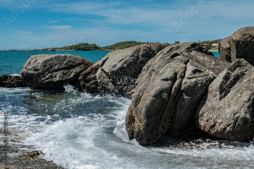 Fotografie, Obraz  Mar e rochas
