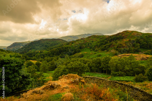 Foto op Canvas Beige Lake District in England