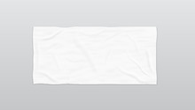 Clear White Soft Beach Towel F...