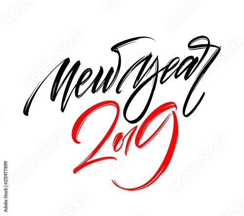Happy New Year Lettering Design 62