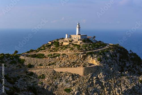 Foto op Aluminium Vuurtoren Formentor Lighthouse, Majorca, Spain