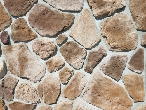 Foto op Plexiglas Stenen Stone wall texture