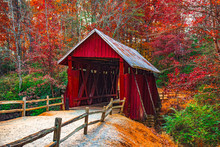 Campbells Covered Bridge In Au...