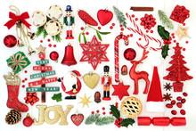 Christmas Background With Joy ...